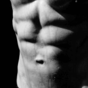 Bauch ohne Fett