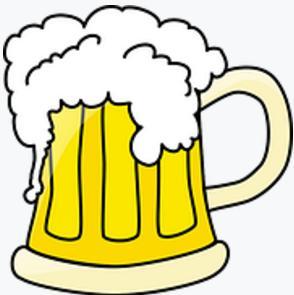 Krug mit Bier
