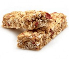 Zwei leckere Eiweiß Protein Riegel