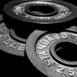Gewichte für Hanteln