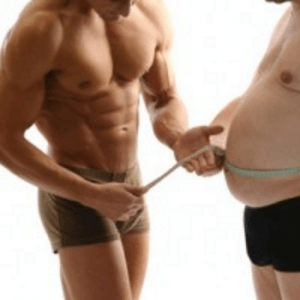 Körperfett beim Mann reduzieren