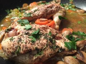 Köstliches Hühnerfleisch