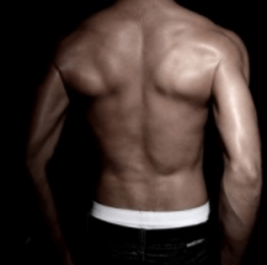 Starke Rückenmuskulatur