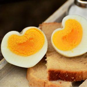 Proteinreiches Ei