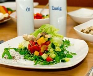 Der leckerste Salat, den ich jemals gesehen habe