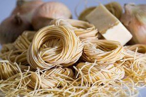 Gute Spaghetti mit Schäfskäse