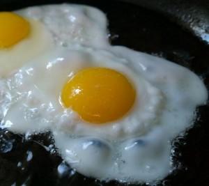 Ei mit viel Protein