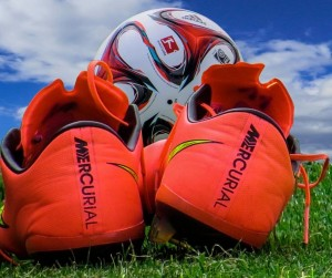 Fußball zum fit werden