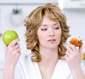 Frau beim Stoffwechsel beschleunigen