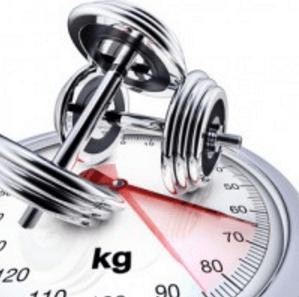 Zeit beim Workout stoppen