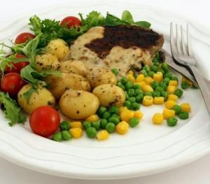 Gesunde Mahlzeit