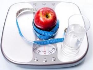Waage zum wiegen des Körpergewichts